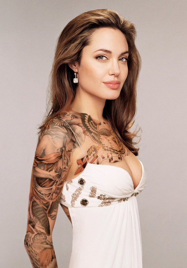 20 Beautiful Women With Tattoos
