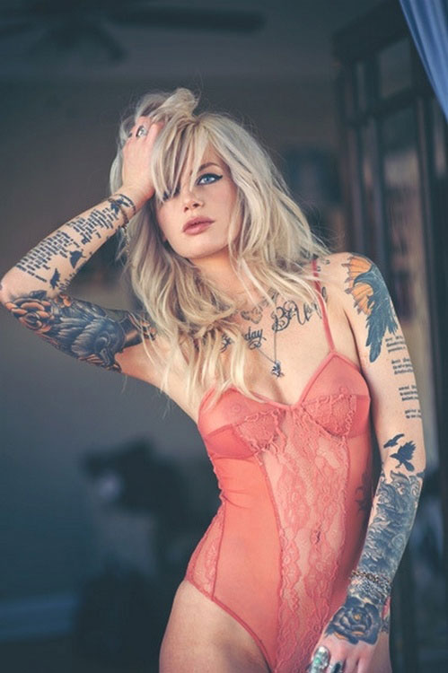 Beautiful Women With Tattoos