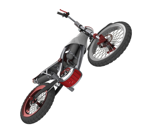 Air Powered Motorbike 3