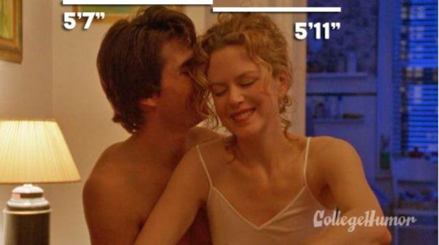 Tom Cruise With Nicole Kidman in Eyes Wide Shut