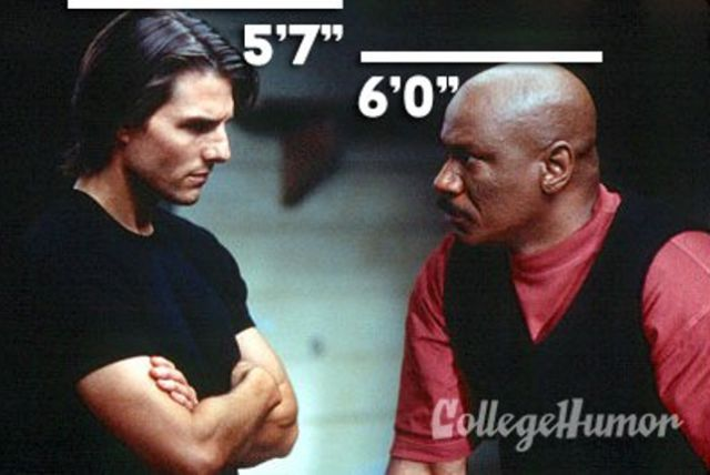 Tom Cruise With Ving Rhames in Mission: Impossible II