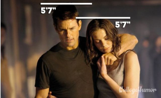 Tom Cruise With Michelle Monaghan in Mission: Impossible III