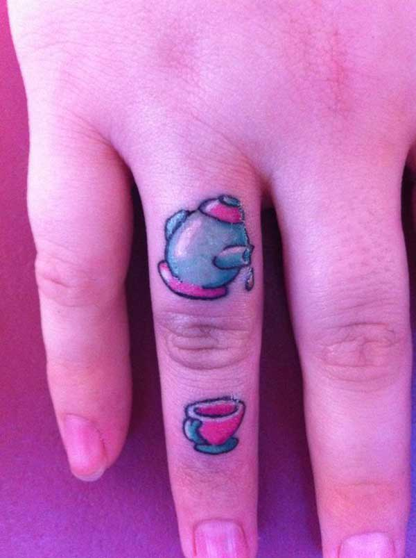 finger tattoo 10