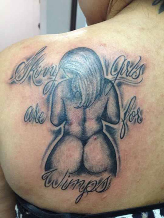 Maybe not the best treatment option for body dysmorphia. Worst Tattoo Fails