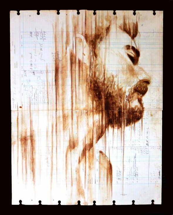 Portraits Painted with Coffee 2