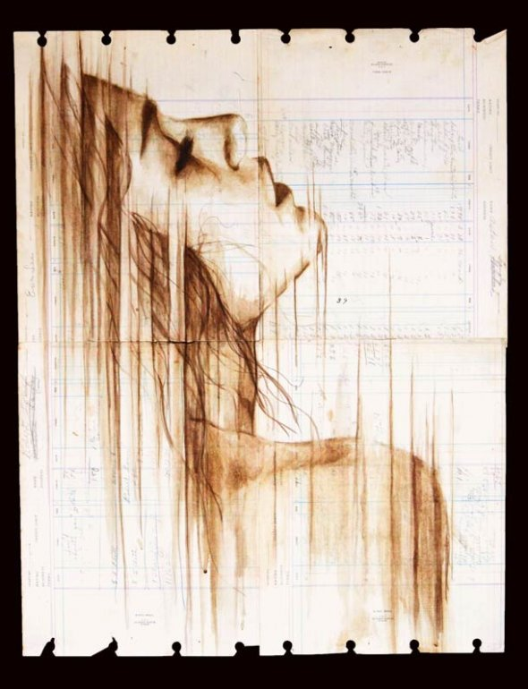 Portraits Painted with Coffee 5