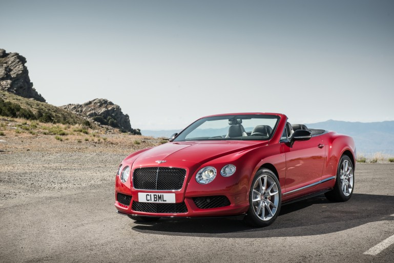 The Continental GT V8 S convertible 1