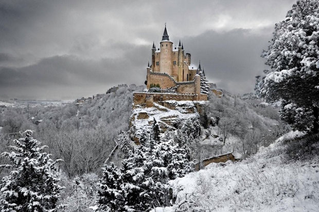 Alcazar Caste in Segovia, Spain