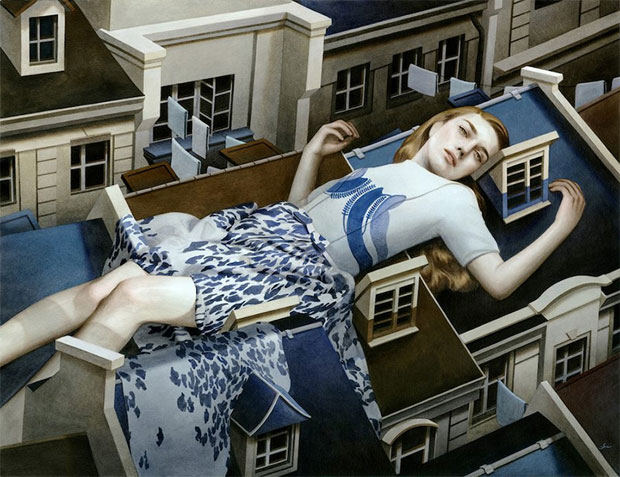 Paintings of Women on Buildings by Tran Nguyen-1
