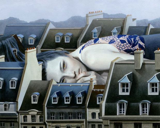 Paintings of Women on Buildings by Tran Nguyen-3