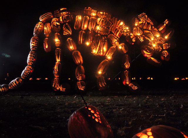 Pumpkins Sculpture 1