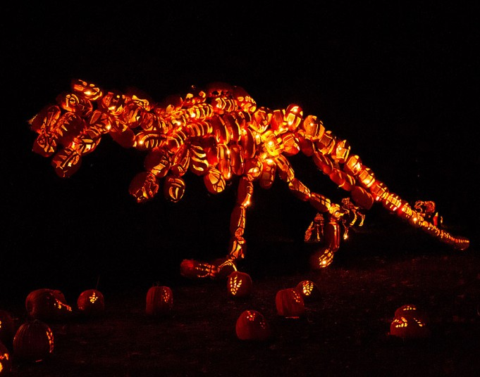 Pumpkins Sculpture 2
