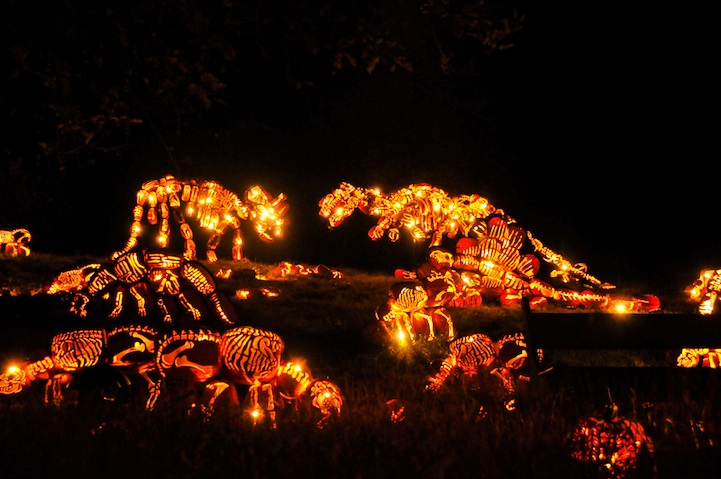Pumpkins Sculpture 5