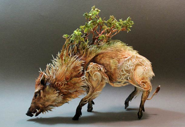 Surreal Animal Sculpture 1