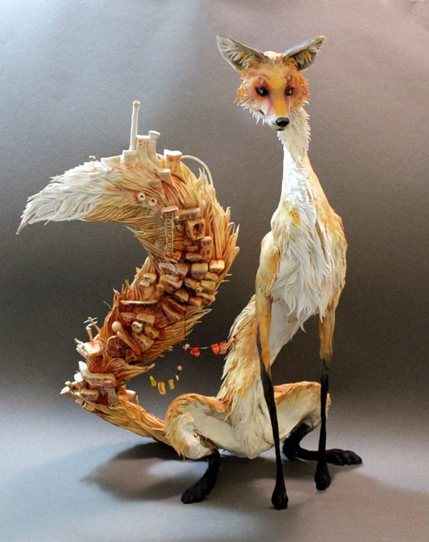 Surreal Animal Sculpture 2
