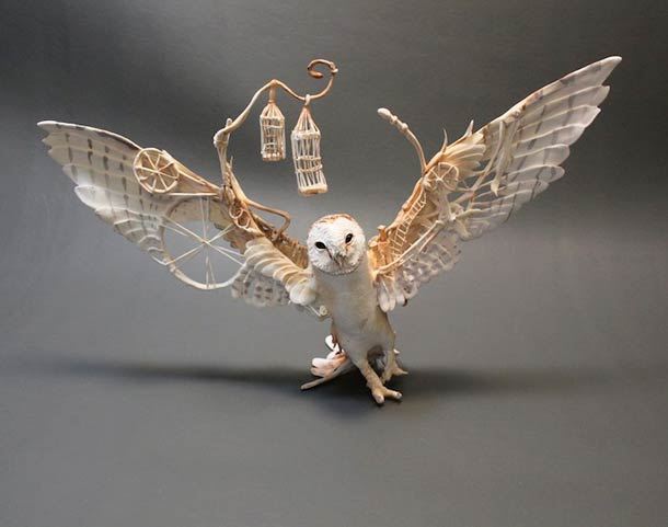 Surreal Animal Sculpture 6