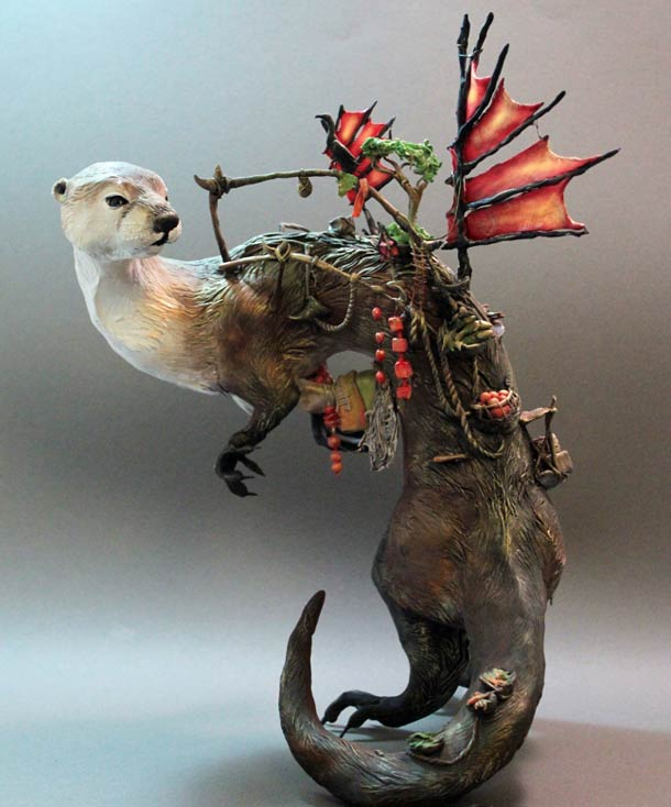 Surreal Animal Sculpture 7