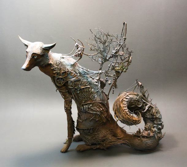 Surreal Animal Sculpture 8
