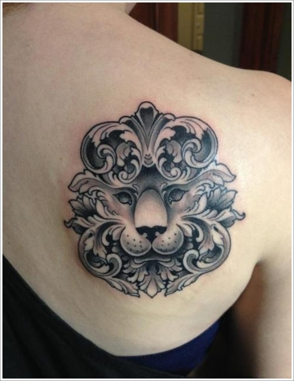 Tribal Lion Tattoo 6