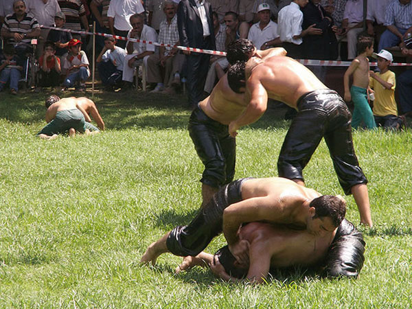 Kirpinar-Oil-Wrestling-Tournament