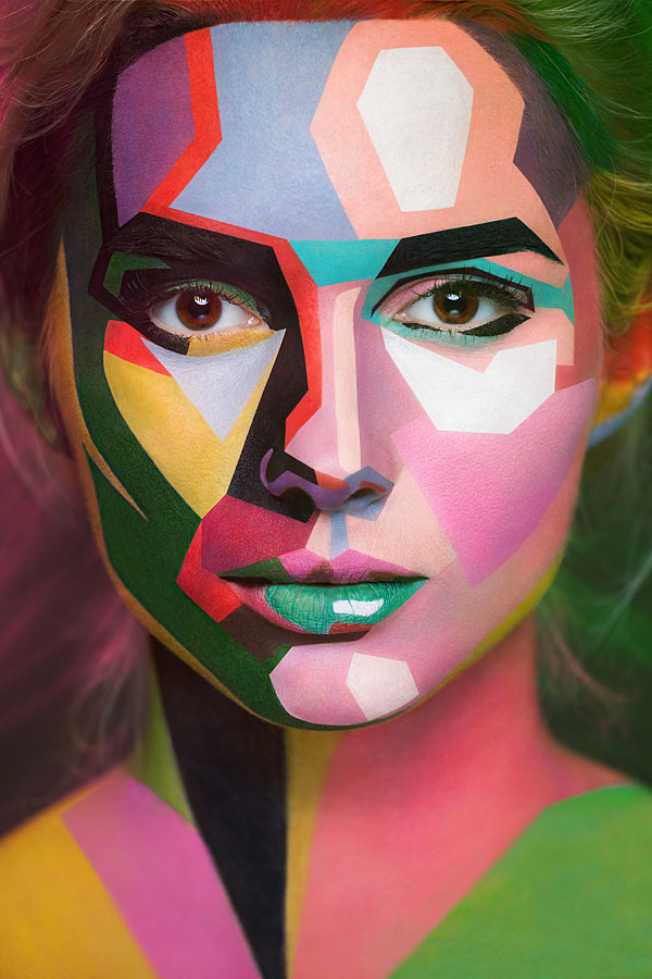 Surreal-Painted-Faces-7