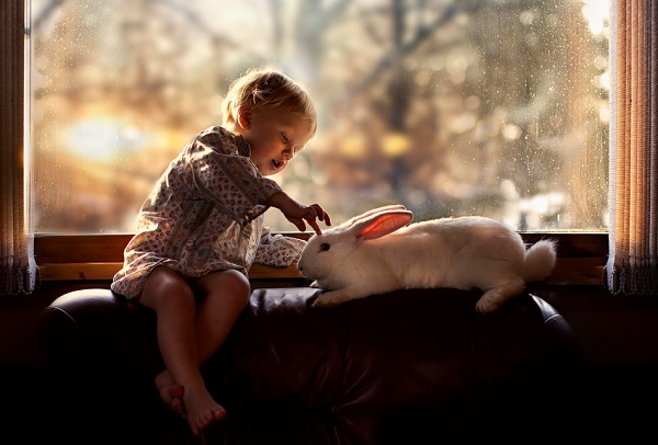Boy with Animals 6