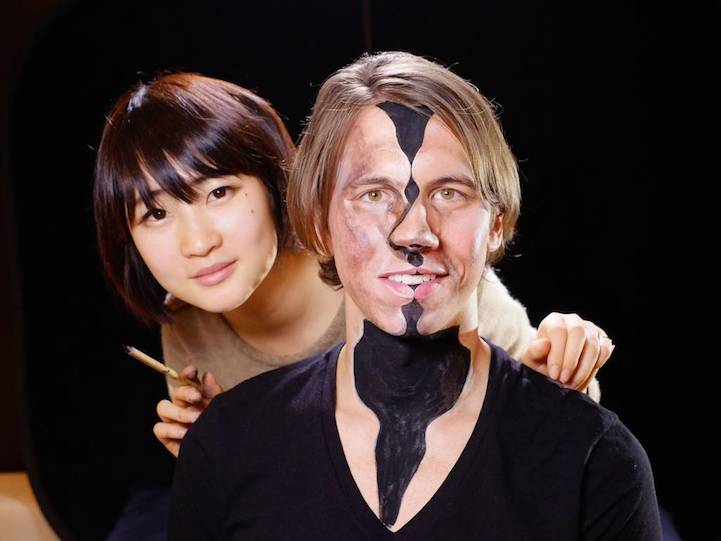 Hyperrealistic Body Paintings by Hikaru Cho 10