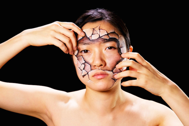 Hyperrealistic Body Paintings by Hikaru Cho 2