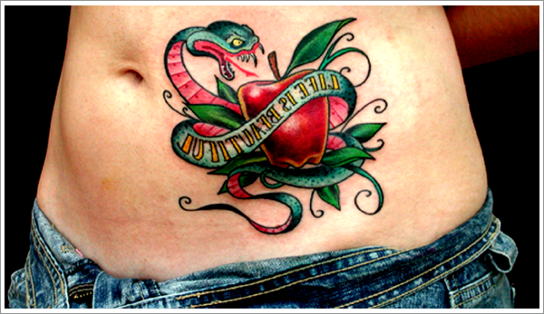 Apple Tattoo Designs 15