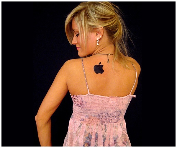 Apple Tattoo Designs 17