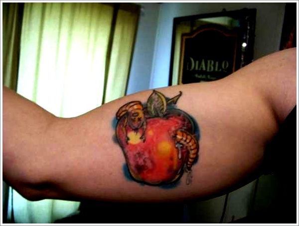 Apple Tattoo Designs 19