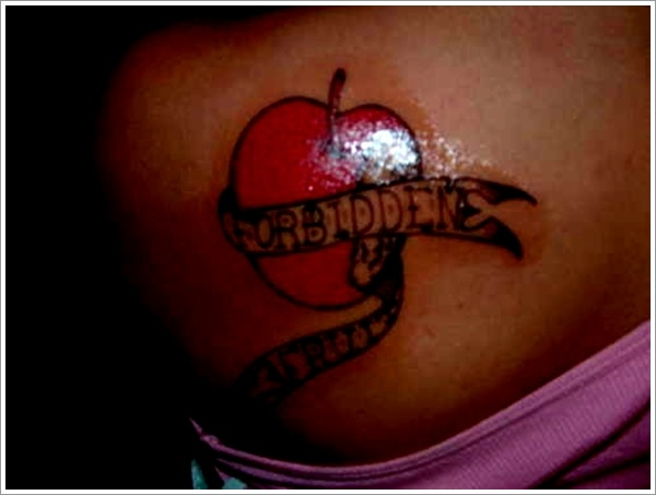Apple Tattoo Designs 24