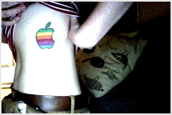 Apple Tattoo Designs 29