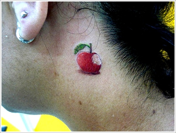 Apple Tattoo Designs 30