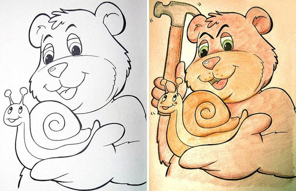 Coloring Book Pages 4