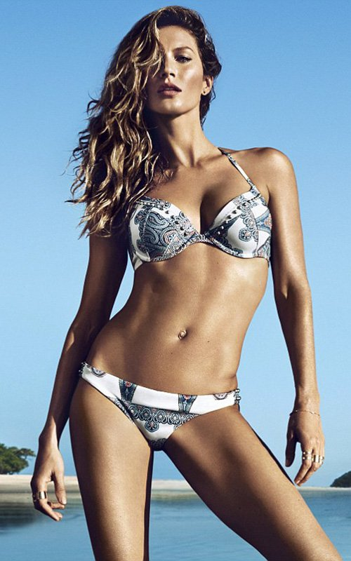 Gisele Bundchen 2014 sexy swimsuits 1