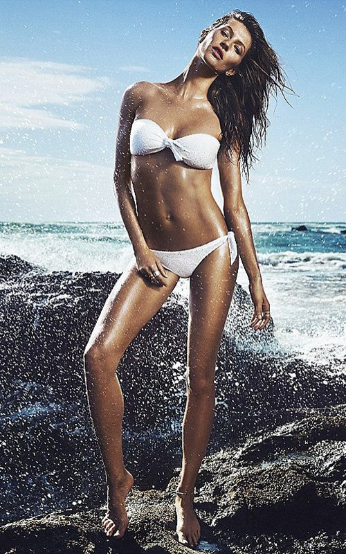 Gisele Bundchen 2014 sexy swimsuits 2