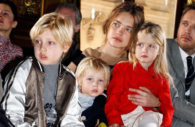 Stylish Moms and Stylish Children / Best Hairstyles With