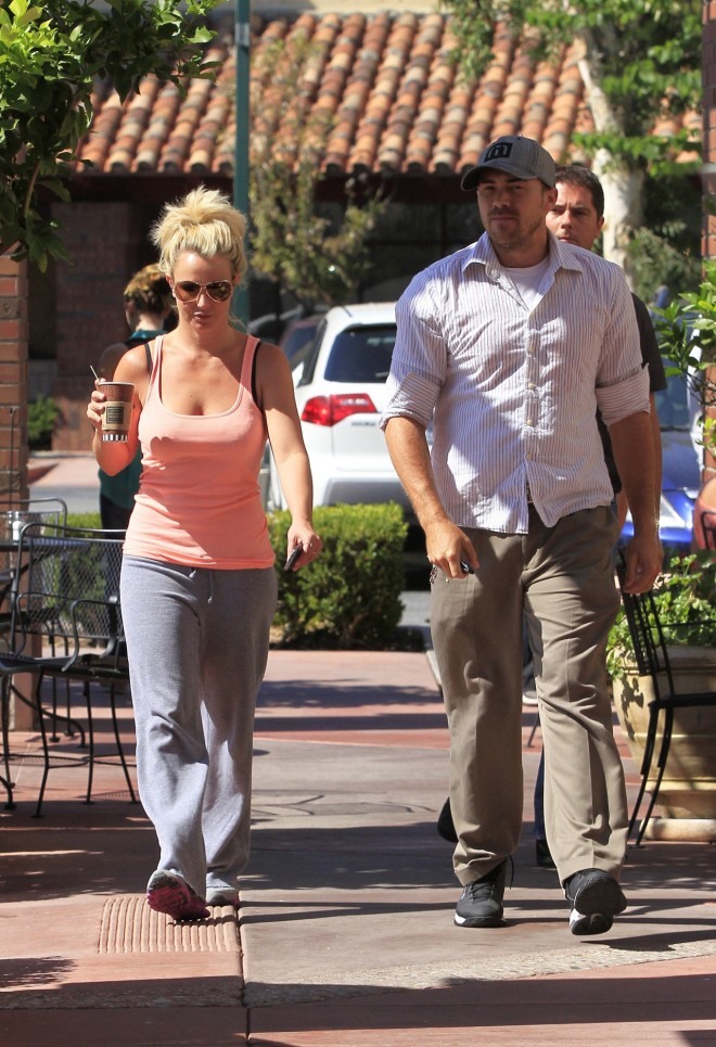 Britney Spears and Dave Lucado