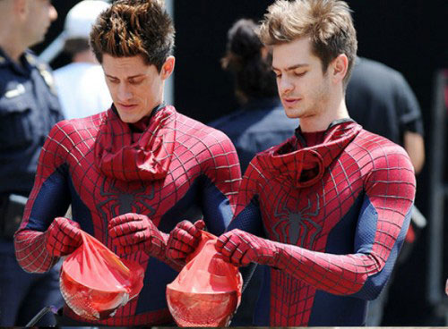 Andrew Garfield in the The Amazing Spider-Man
