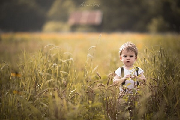Young Children Portraits In The Outdoors 6
