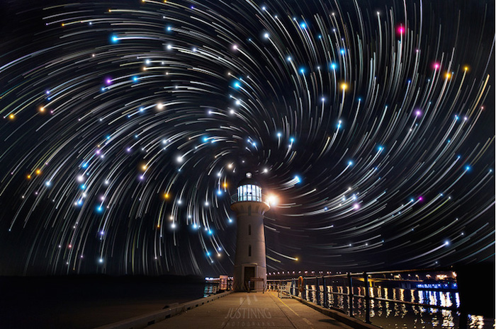 Dazzling Star Trails by Justin Ng