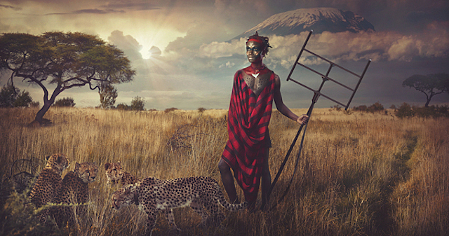 Maasai-Warriors-by-Lee-Howell-1