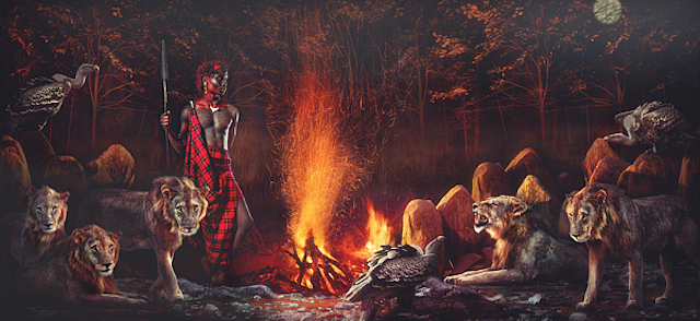 Maasai-Warriors-by-Lee-Howell-2