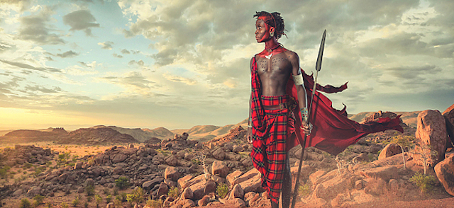 Maasai-Warriors-by-Lee-Howell-7
