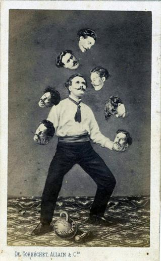 Man Juggling His Own Head (1880)