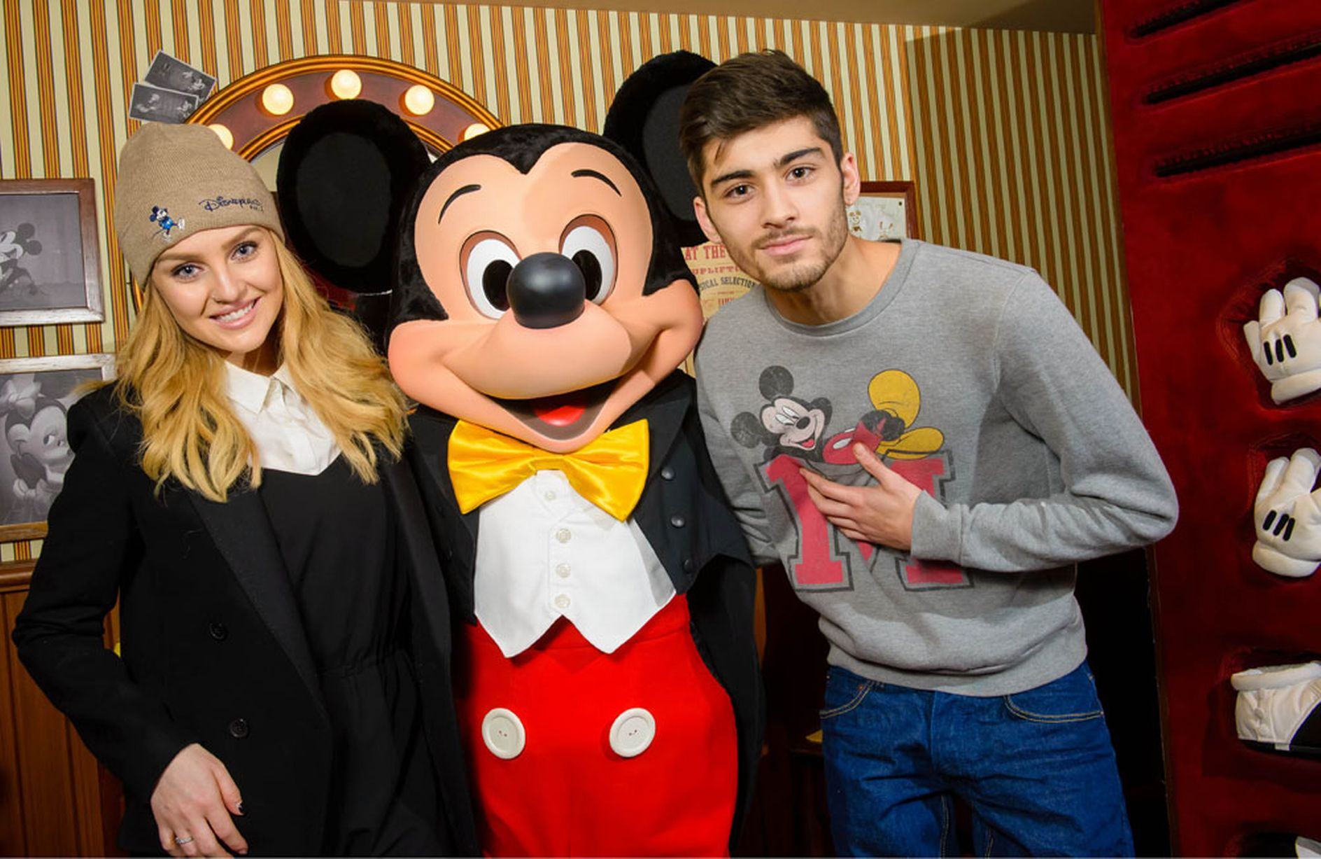 Perrie-Edwards-and-Zayn-Malik-at-Disneyland-Paris 6