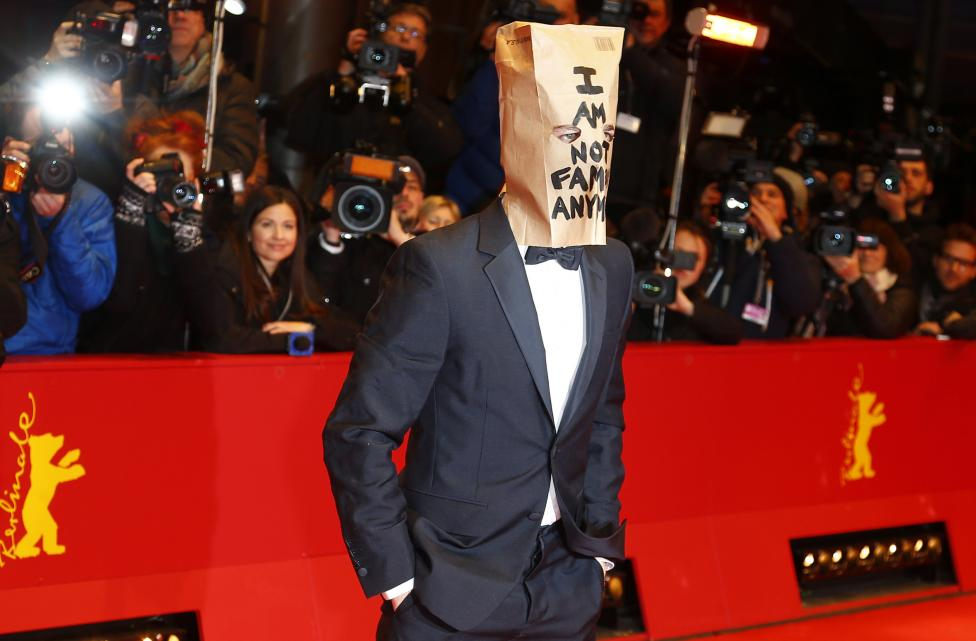 "Cast member LaBeouf arrives on red carpet to promote movie ""Nymphomaniac Volume I"" during the 64th Berlinale International Film Festival in Berlin"