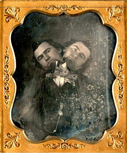 The Two-Headed Man (1855)