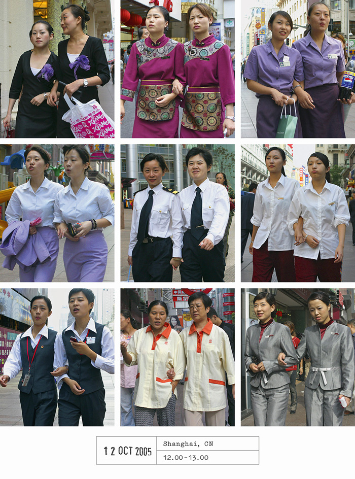 Photographer Spends 20 Years Documenting How We All Dress Exactly Alike